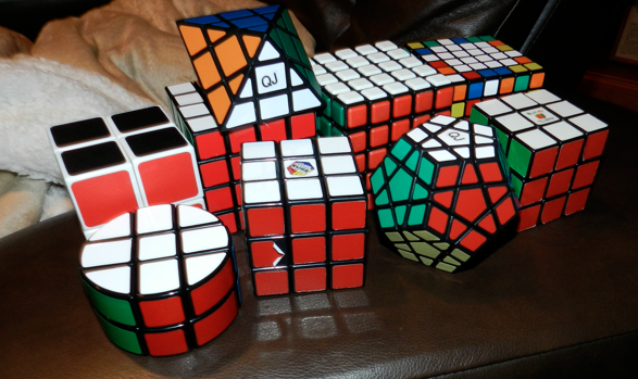 Hunter's Rubik collection
