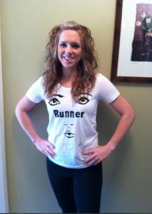 Rockin' the Runner T!!!