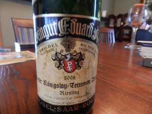 a favorite!!! Wine from Germany