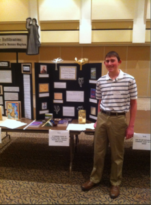 History Day Display - my sweet boy/man