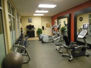 Hilton Garden Fitness Room