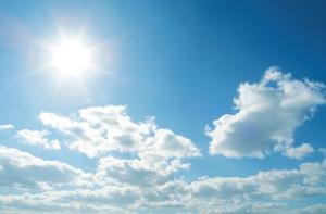 Blue skies and sunshine!!