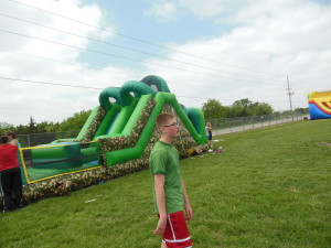one of the many inflatables