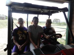 Aunt Jackie, Jordan & Hunter