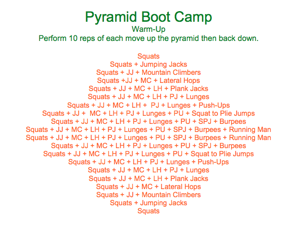 Pyramid Boot Camp