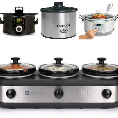 a few of the crock pots I use