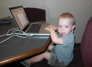 future blogger? Hays - 2 years