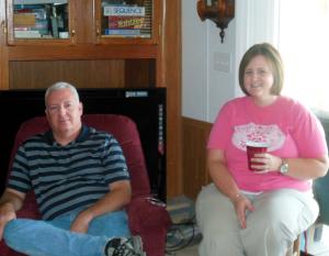 Tim (twin) & Mandi (sister)