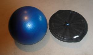 BOSU & stability ball
