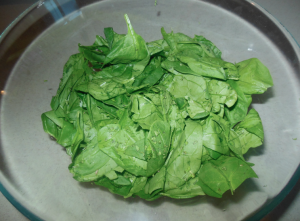 spinach & mint
