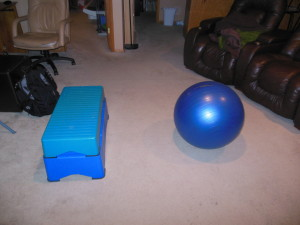 Step Stability Ball