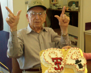 on his 90th birthday (tomorrow he would be 99)