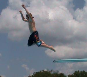 look at him soar!!
