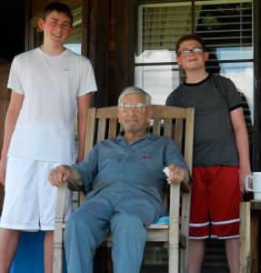 Jordan's birthday is just 2 days before my Poppa's birthday (he would have turned 99 on Tuesday!!)