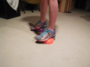 see how unstable my feet are?
