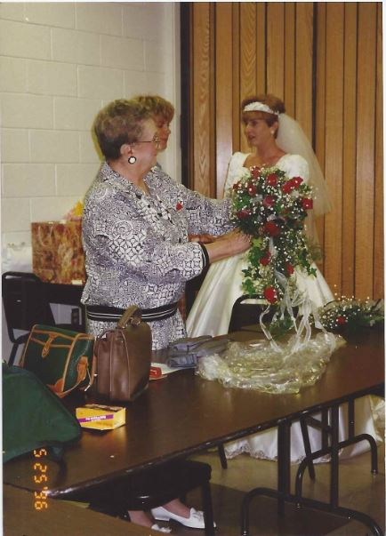 May 25, 1996 a few special words right before my wedding