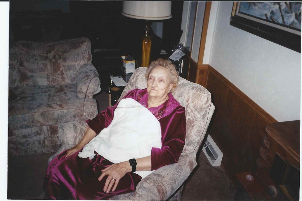 this picture was after Mema had bypass surgery - I went down for a week to help take care of her