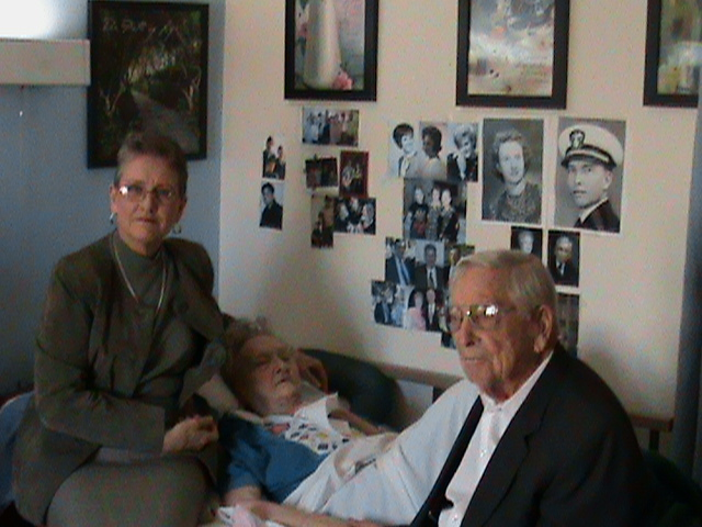 Mema & Poppa with Aunt Jackie