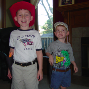brotherly love (even with guns & holsters)