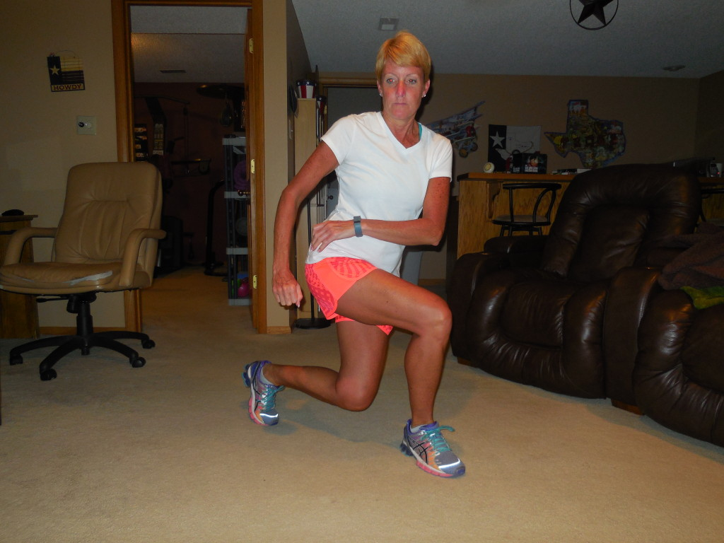and lunge