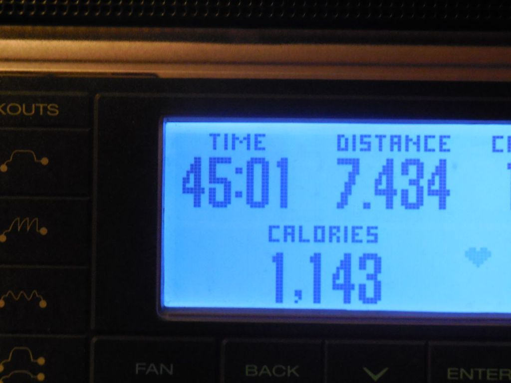 45 minutes of Running