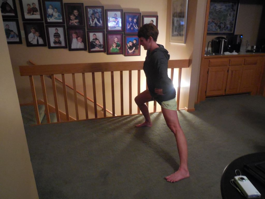lunge right