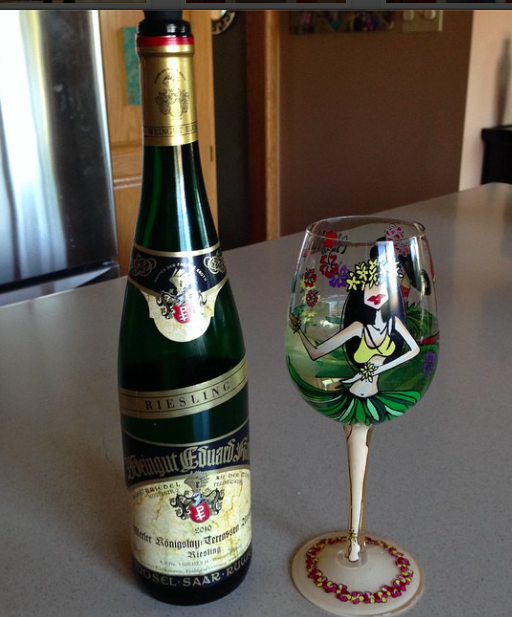 German wine in my favorite glass