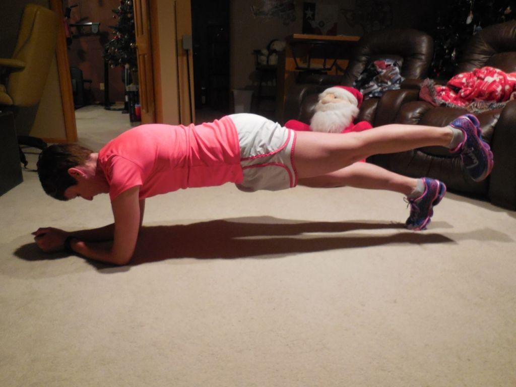 push leg back and lift