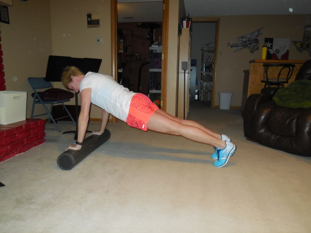 start in plank